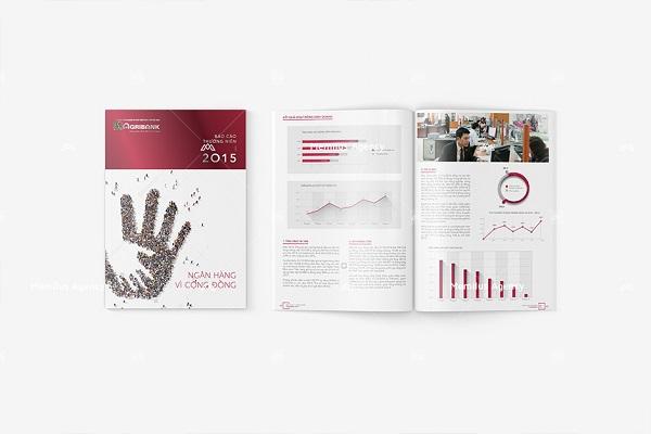 Một sản phẩm của công ty thiết kế báo cáo thường niên Memilus