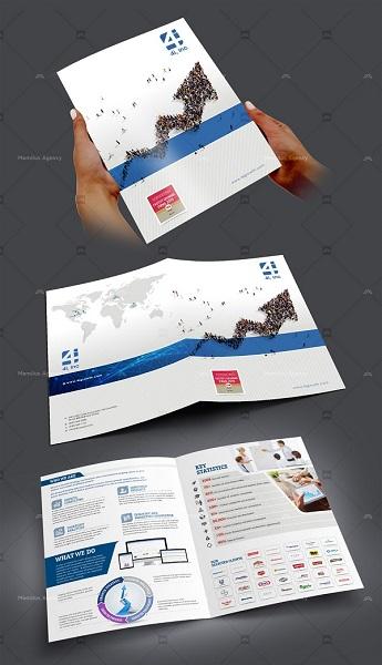 công ty thiết kế brochure đa dạng