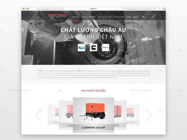 Website cần thu hút sự chú ý của khách hàng để tăng khả năng cạnh tranh với đối thủ - công ty thiết kế website Memilus