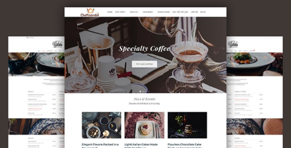 công ty thiết kế website - mẫu 3