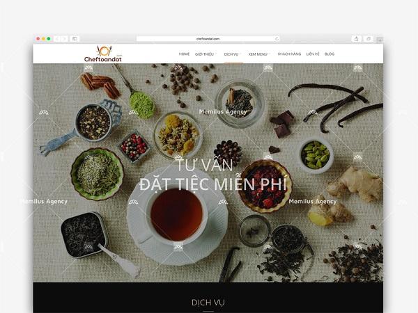 công ty thiết kế website - mẫu 4