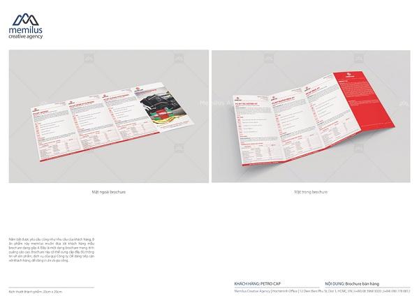 Dịch vụ thiết kế brochure - cầu kết nối giữa thương hiệu và khách hàng