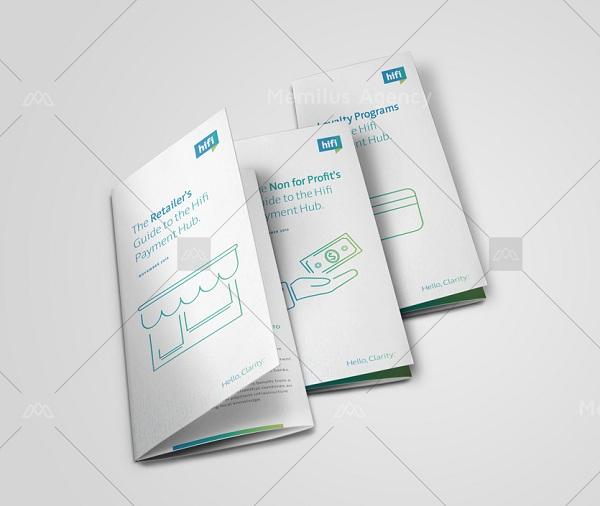 memilus cung cấp dịch vụ thiết kế brochure uy tín