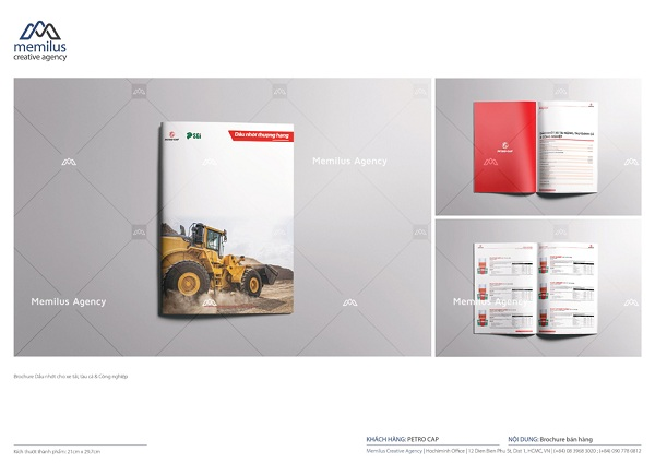 Profile công ty được thiết kế khá gọn nhẹ và đẹp mắt - dịch vụ thiết kế profile công ty Memilus