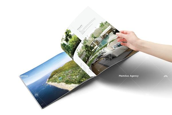 dịch vụ thiết kế brochure chuyên nghiệp Memilus