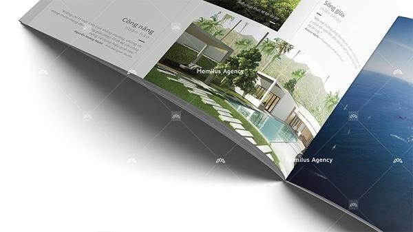 Mỗi thiết kế được chỉnh chu, cẩn thận về nội dung lẫn hình thức - dịch vụ thiết kế profile công ty Memilus