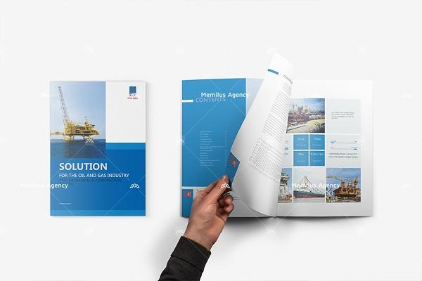 Không những đảm bảo về mặt hình thức mà còn thể hiện được sức hút phần nội dung - dịch vụ thiết kế profile công ty Memilus