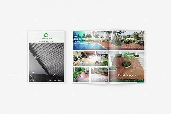 Catalogue sản phẩm của công ty TODA - dịch vụ thiết kế profile công ty Memilus