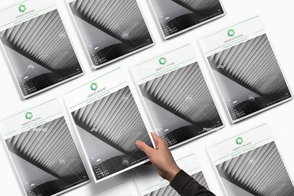 thiết kế profile chuyên nghiệp màu đen tôn lên vẻ đẹp quý phái, sang trọng - dịch vụ thiết kế profile công ty Memilus